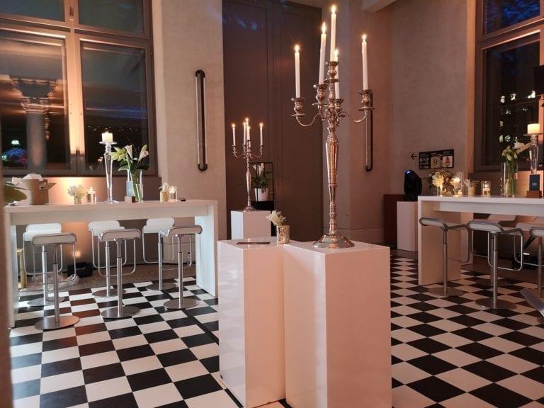 Hochtisch White mieten rent-a-lounge 12