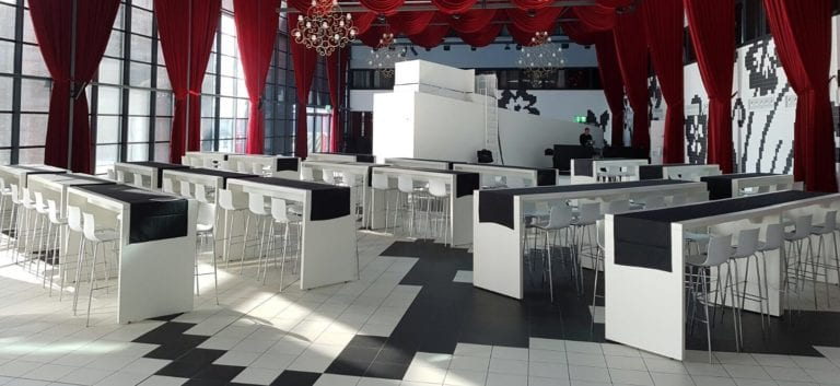 Hochtisch White mieten rent-a-lounge 7