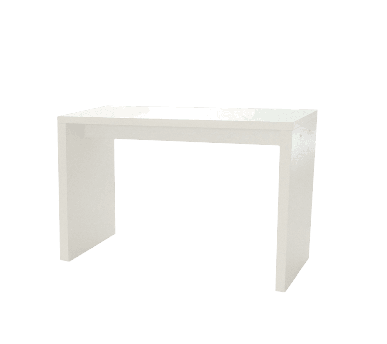 Hochtisch White - L mieten rent-a-lounge