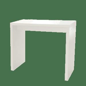 Hochtisch White - M mieten rent-a-lounge 1