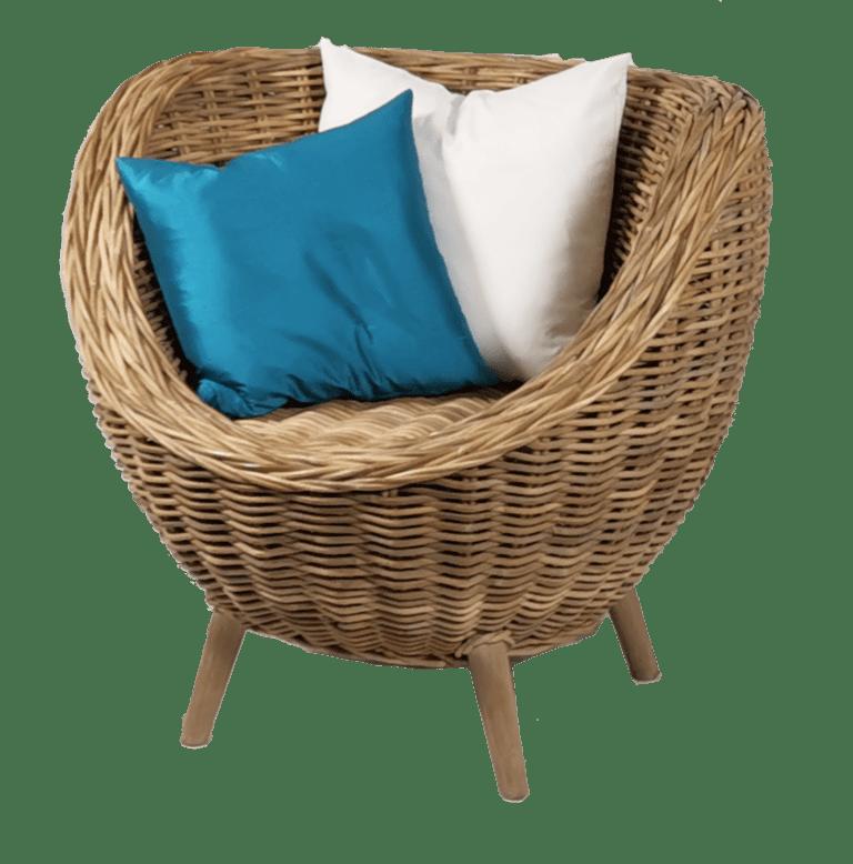sempre egg chair - ohne Lammfell mieten rent-a-lounge