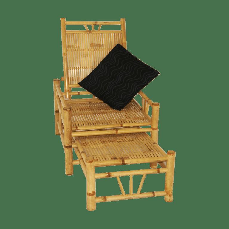 bamboo liege mieten rent-a-lounge