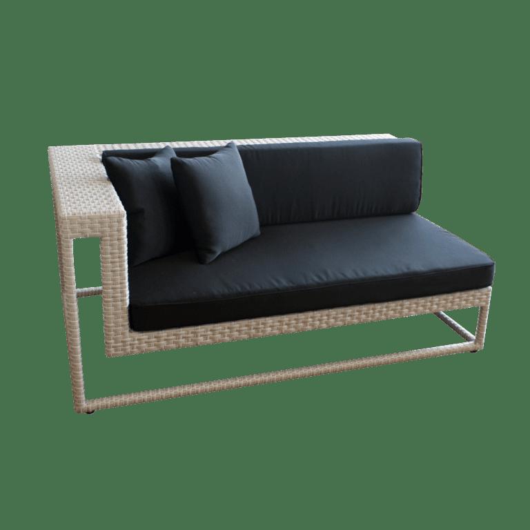 cape town 3er sofa links mieten rent-a-lounge