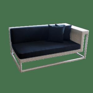 cape town 3er sofa rechts mieten rent-a-lounge
