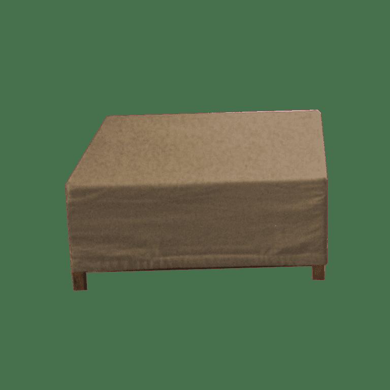 choice hocker - natur/sand mieten rent-a-lounge