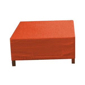 choice hocker orange mieten rent-a-lounge