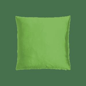 dekokissen seide - apfelgrün mieten rent-a-lounge