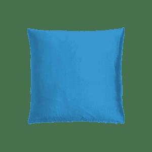 dekokissen seide - blau aqua mieten rent-a-lounge