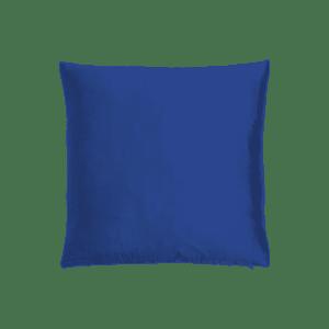 dekokissen seide - blau dunkel mieten rent-a-lounge