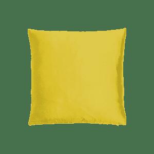 dekokissen seide - gelb mieten rent-a-lounge