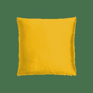 dekokissen seide - gold-gelb mieten rent-a-lounge