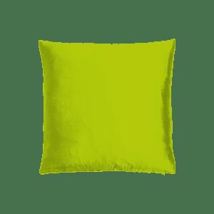 dekokissen seide - hellgrün mieten rent-a-lounge
