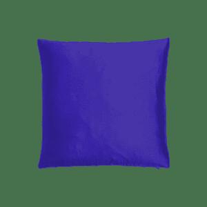 dekokissen seide - königsblau mieten rent-a-lounge