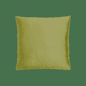 dekokissen seide - olivgrün mieten rent-a-lounge