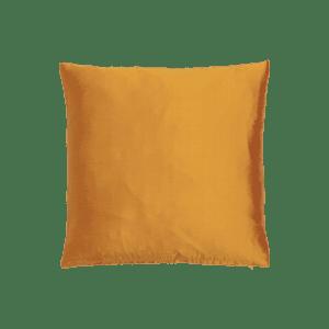 dekokissen seide - orange dunkel mieten rent-a-lounge