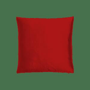 dekokissen seide - rot dunkel mieten rent-a-lounge