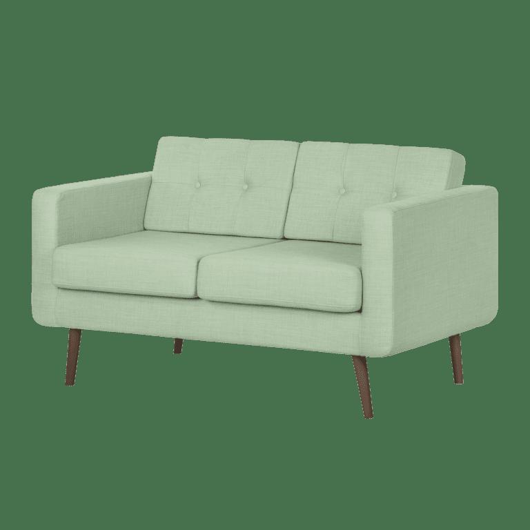 grease sofa - grün hell mieten rent-a-lounge