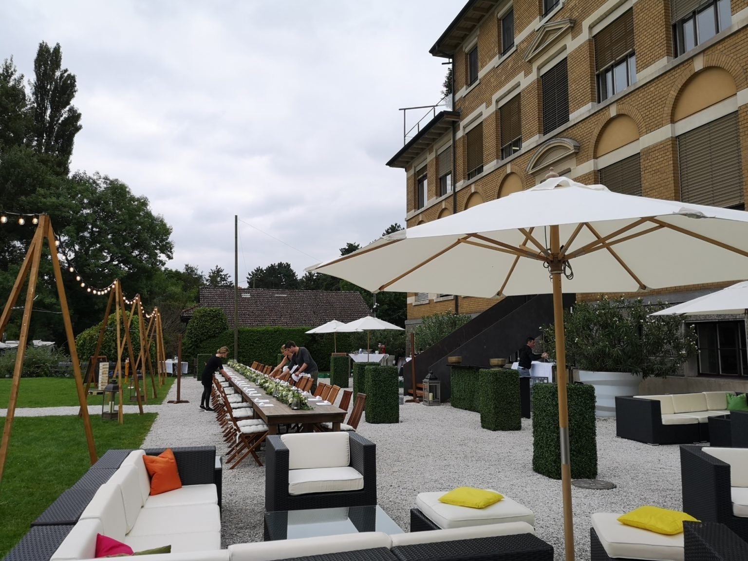 Outdoor Rattan Lounge mieten rent-a-lounge 2