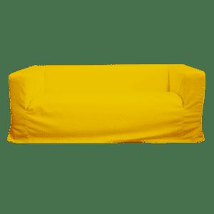 white sofa - gelb mieten rent-a-lounge 1