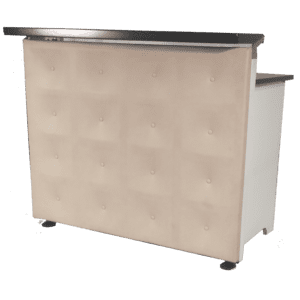 chic bar leder beige mieten rent-a-lounge