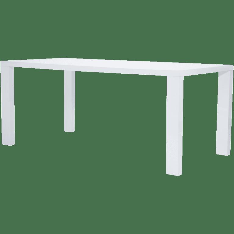 esstisch hochglanz weiss mieten rent-a-lounge