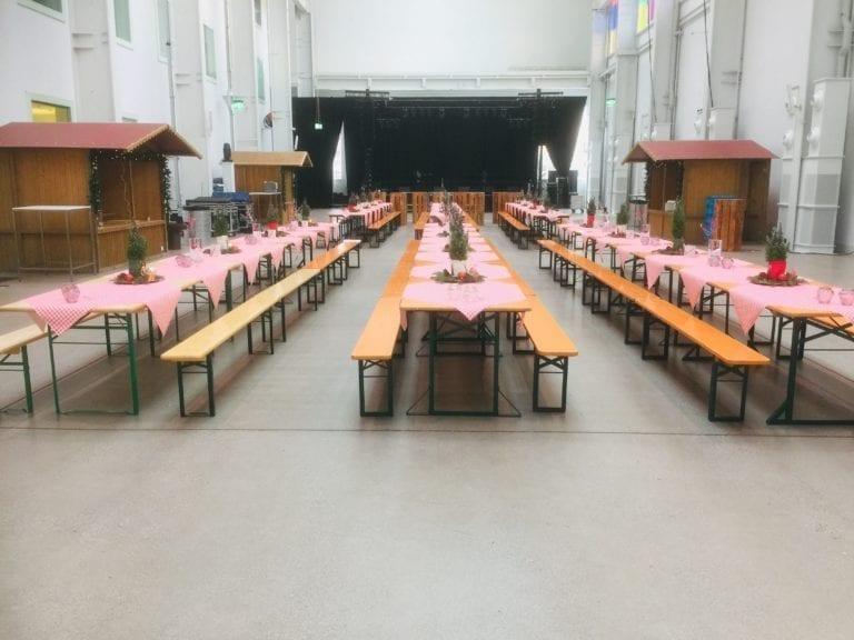 Festbank Tisch mieten rent-a-lounge 5