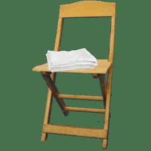 klappstuhl buche - mit Husse mieten rent-a-lounge