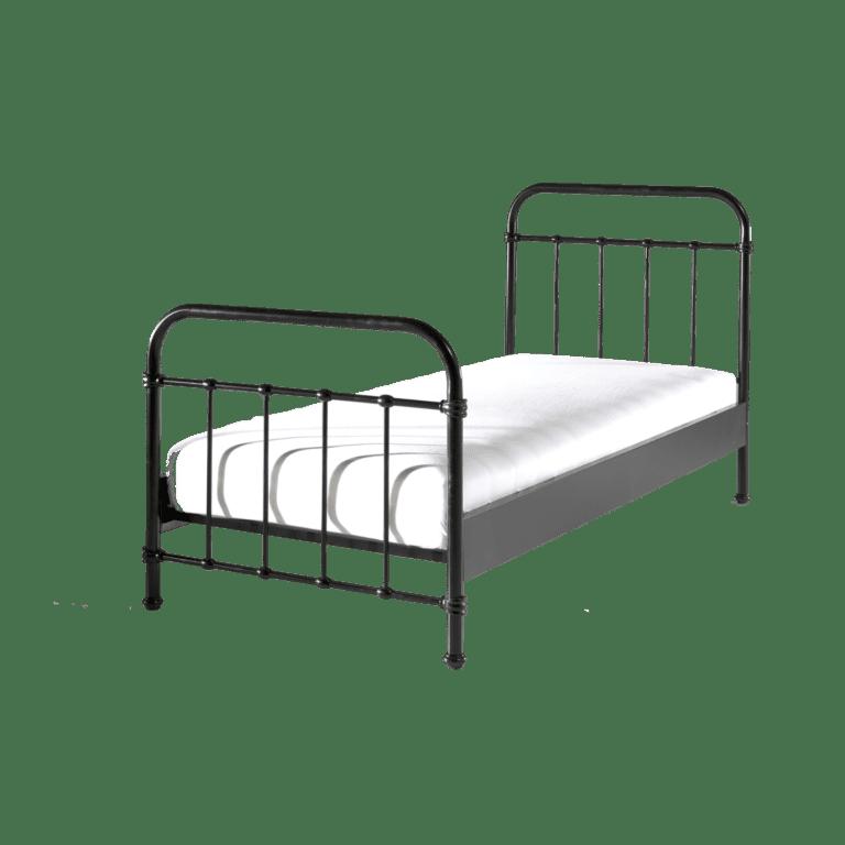 metallbett schwarz mieten rent-a-lounge