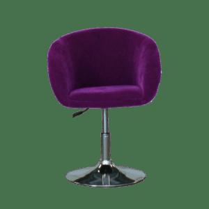 spot chair - violett mieten rent-a-lounge