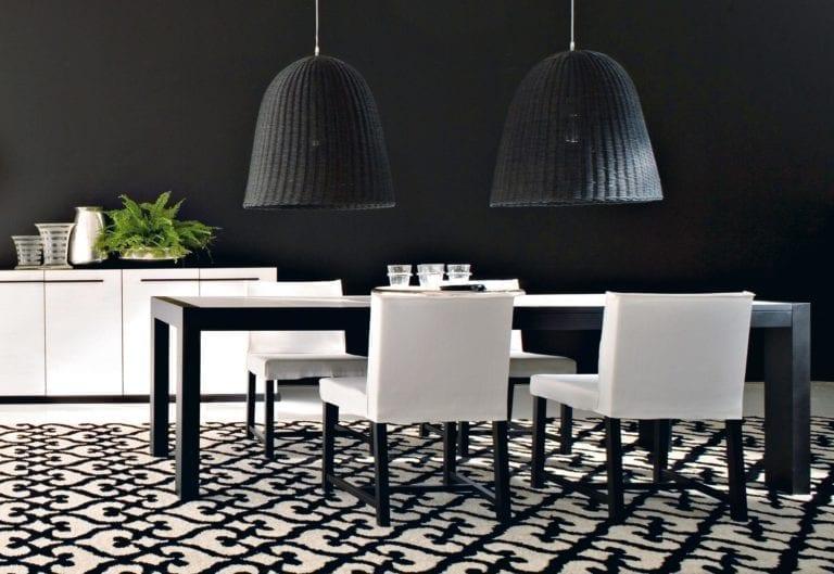 korblampe schwarz mieten rent-a-lounge 1