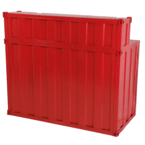 bar container - rot mieten rent-a-lounge