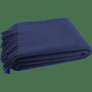 decken plaid - blau dunkel mieten rent-a-lounge