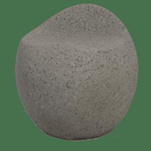 hocker stone - grau mieten rent-a-lounge