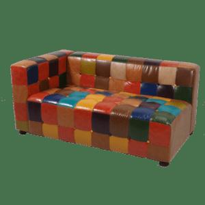 retro 2er sofa - rechts geschlossen (Kopie) mieten rent-a-lounge