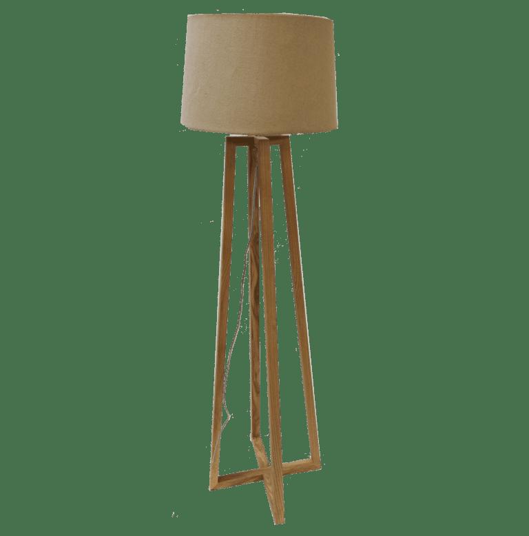 ständerlampe holz mieten rent-a-lounge