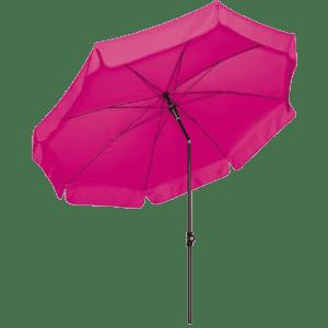 terrassenschirm - pink/rosa mieten rent-a-lounge