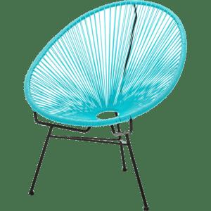 spaghetti sessel - blau hell mieten rent-a-lounge