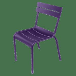 stuhl fermob - aubergine mieten rent-a-lounge