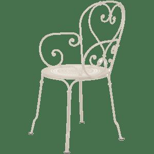 stuhl fermob - natur/sand mieten rent-a-lounge
