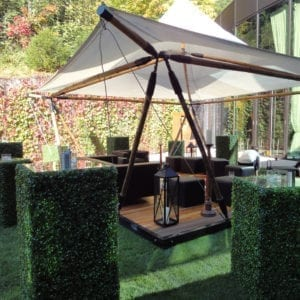 bambus pavillon mieten rent-a-lounge