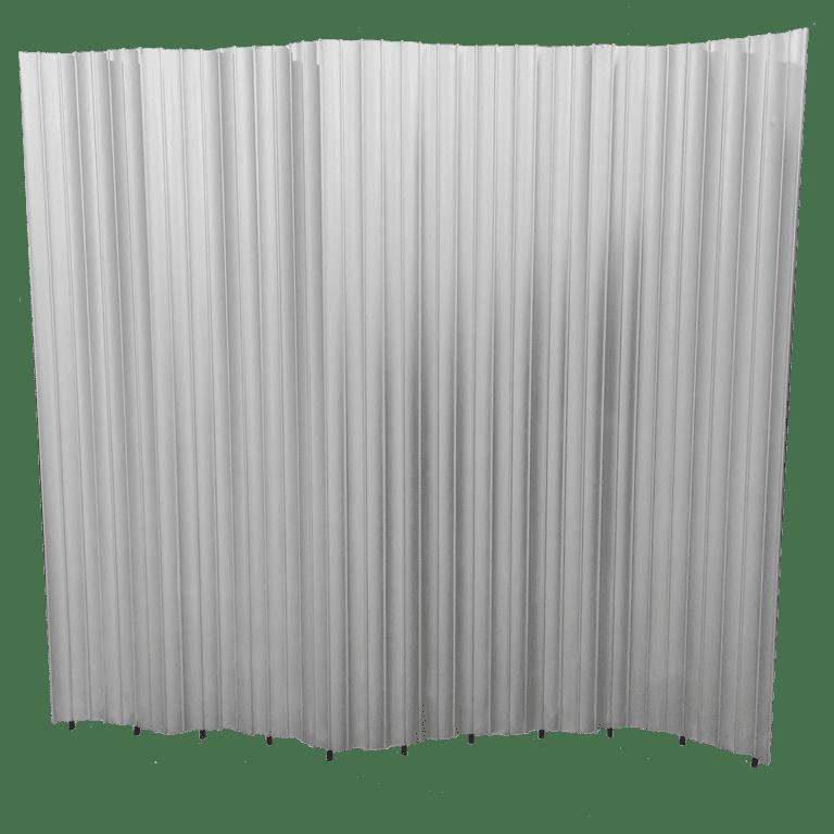 paravent aluminium mieten rent-a-lounge