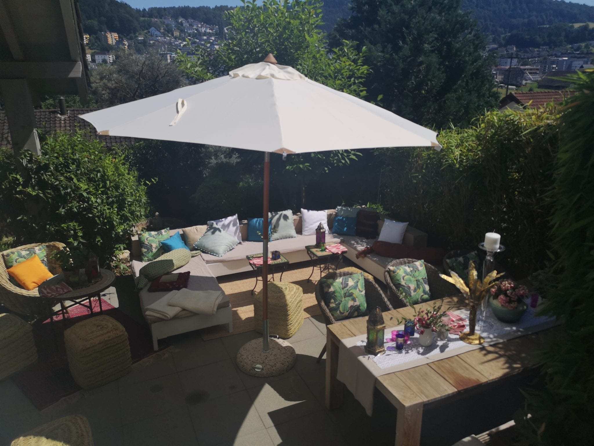 Boho Gartenparty mieten rent-a-lounge 3