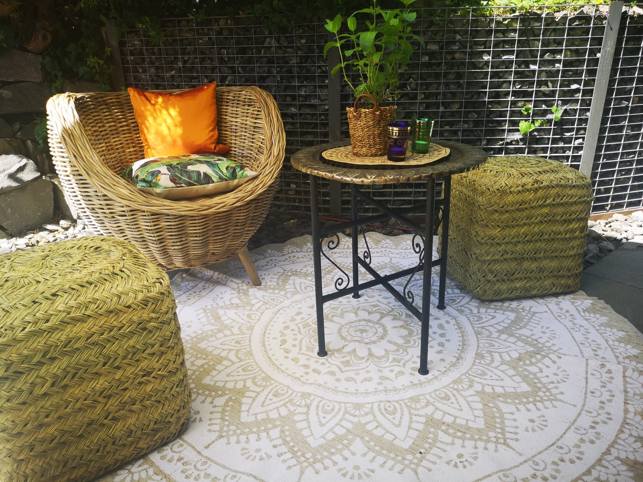 Boho Gartenparty mieten rent-a-lounge 8