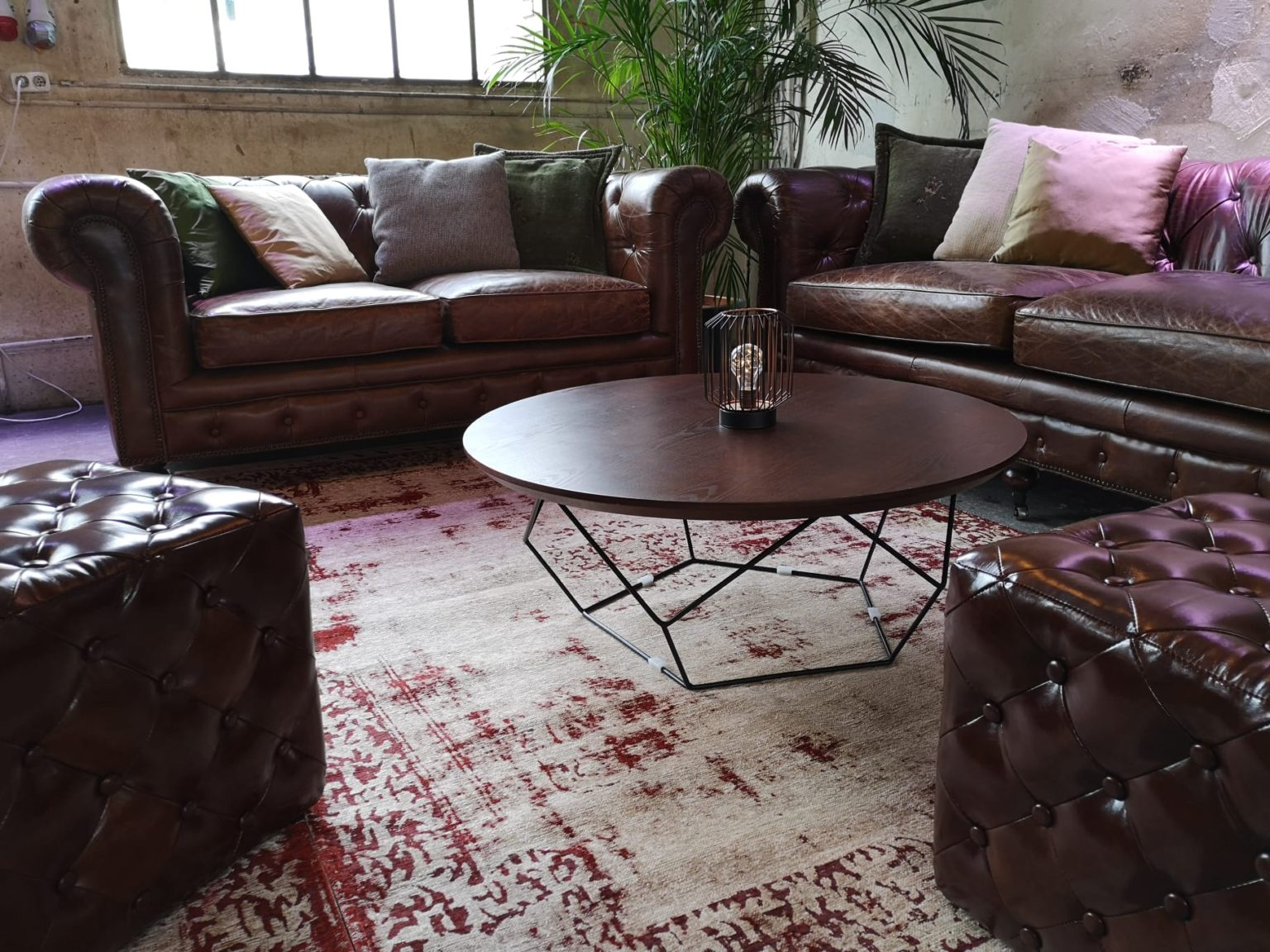 Chesterfield Vintage mieten rent-a-lounge