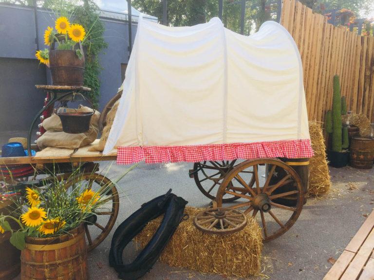 Holzwagen natur mieten rent-a-lounge 1