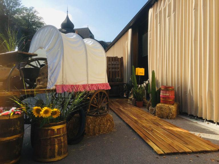 Holzwagen natur mieten rent-a-lounge 3
